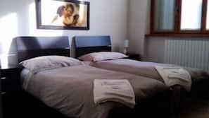 Down comforters, desk, rollaway beds, free WiFi