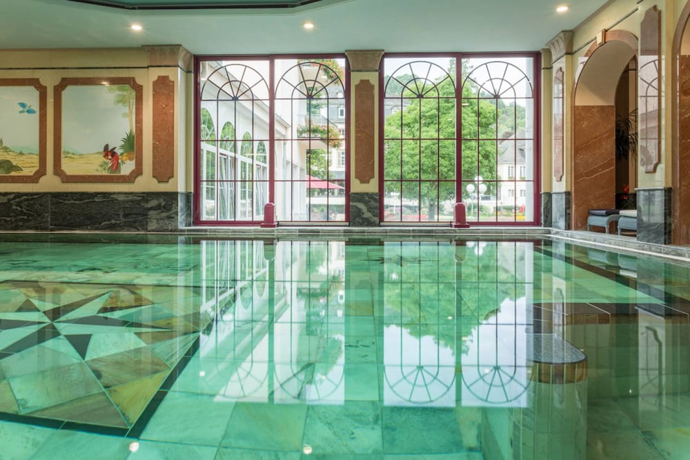 Indoor Pool, Häckers Fürstenhof Wellness & Spa Resort