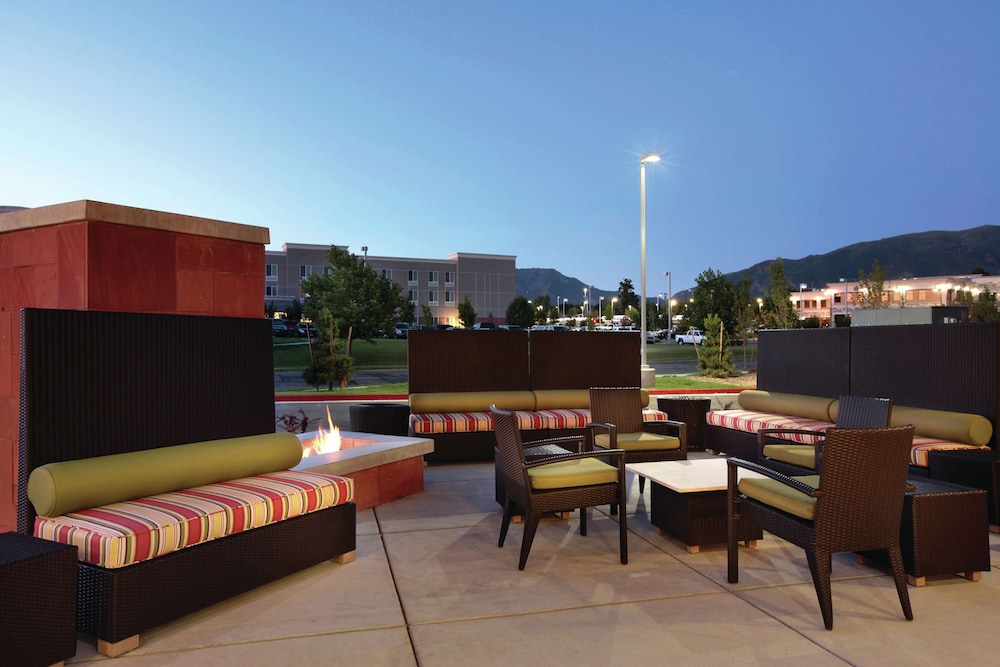 Terrace/Patio, Home2 Suites by Hilton Salt Lake City/Layton, UT