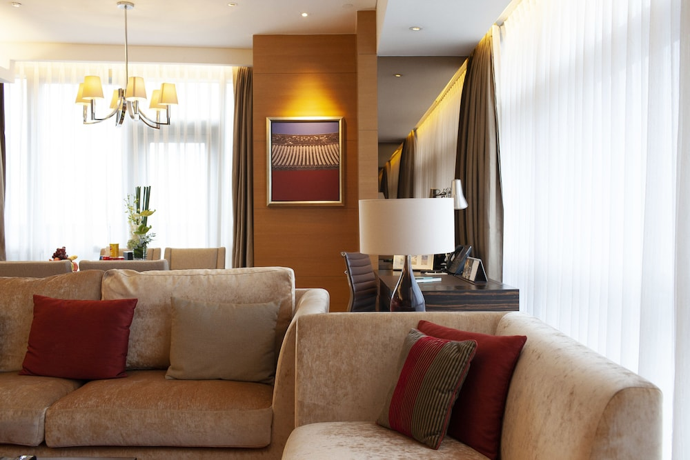 Living Area, Intercontinental Residences Chengdu City Center