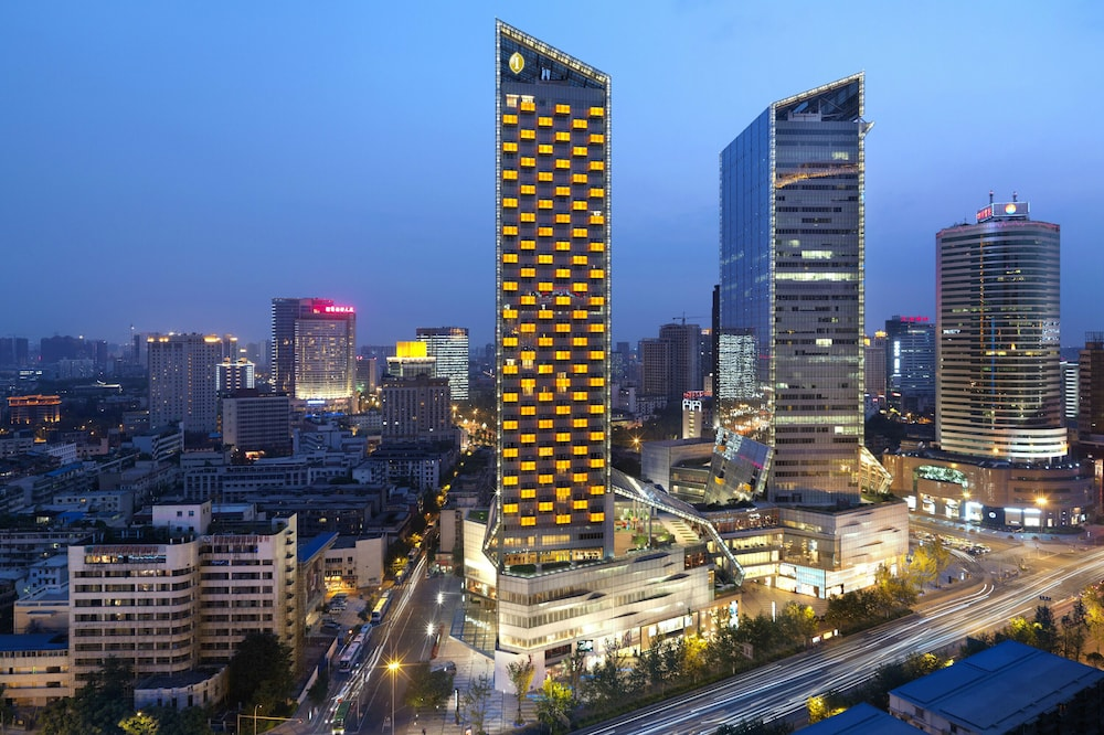 Front of Property - Evening/Night, Intercontinental Residences Chengdu City Center