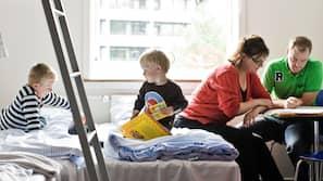 Strygejern/strygebræt, gratis baby-/barnesenge, gratis Wi-Fi, sengetøj