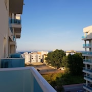 Apartment With 2 Bedrooms in Piles, With Wonderful sea View and Shared Pool - 500 m From the Beach
