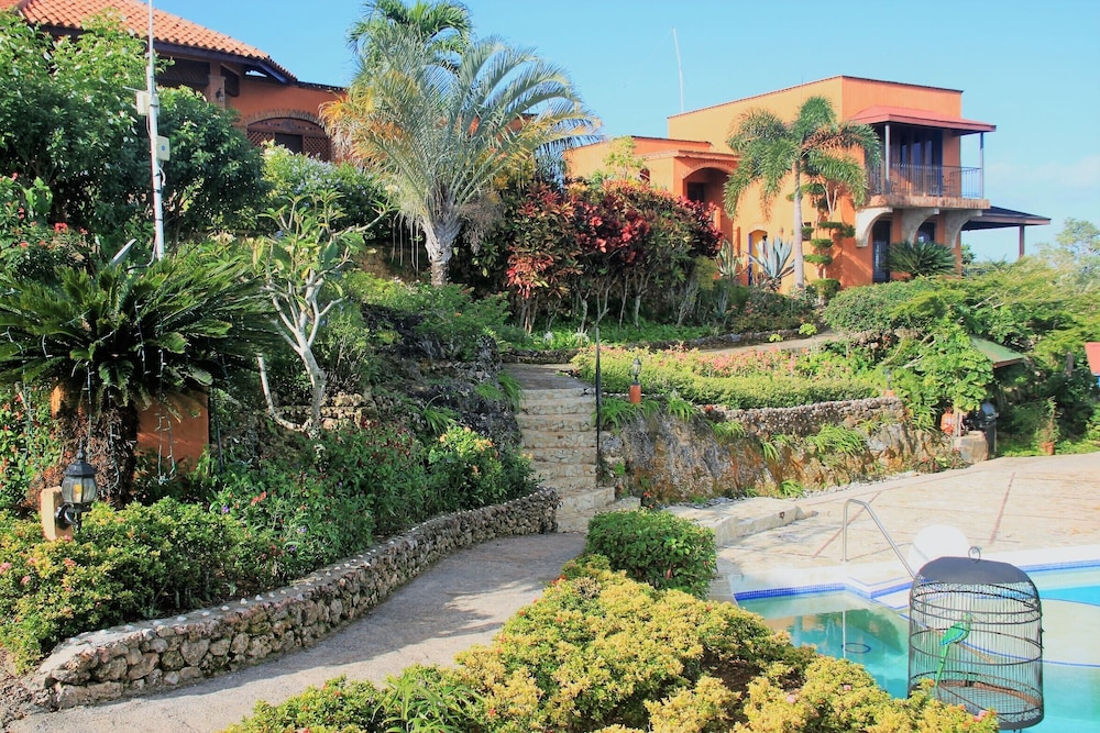 Property Grounds, Monte Placido - Villa Lily - Ocean View -yoga -pool