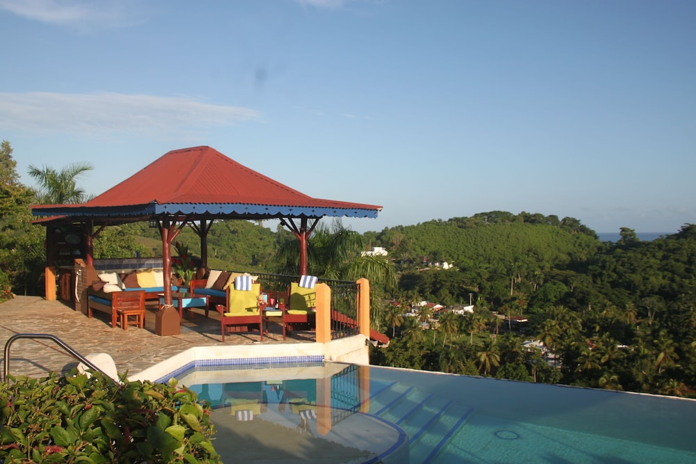 Pool, Monte Placido - Villa Lily - Ocean View -yoga -pool