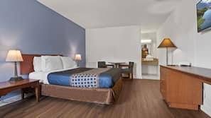 Individually furnished, free WiFi, wheelchair access