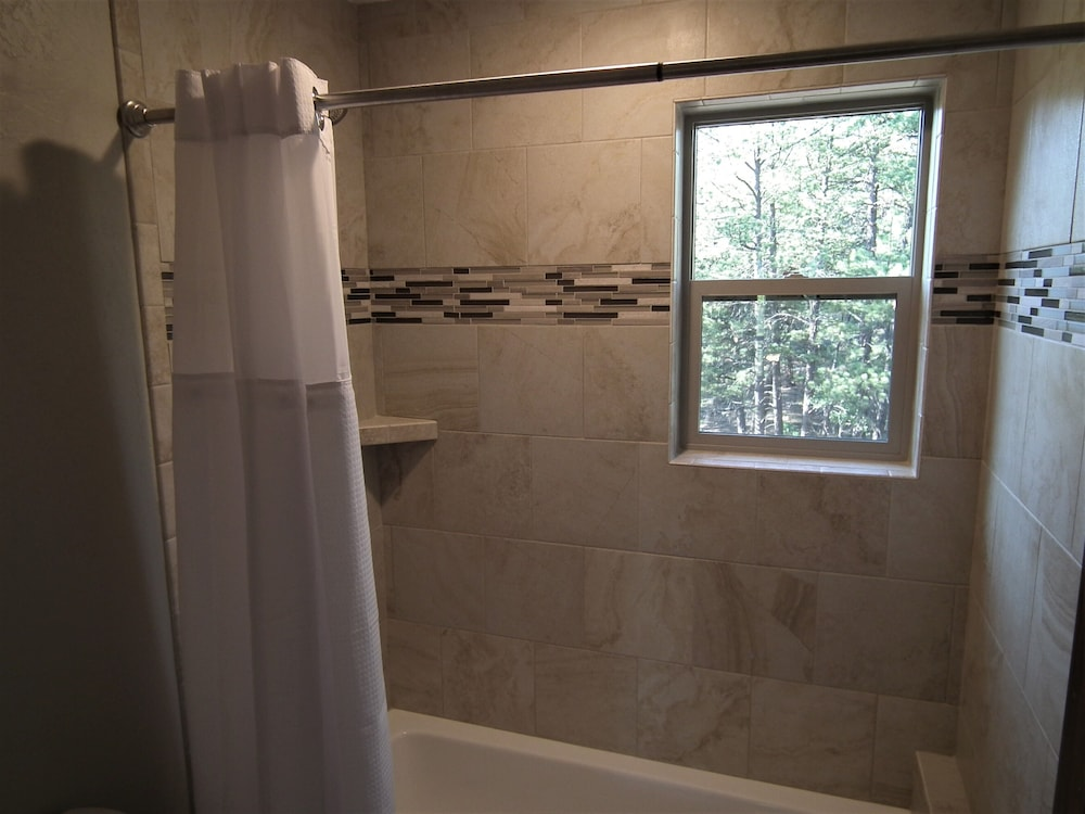 Bathroom, The Timberwolf: Brand NEW Cabin Borders the National Forest
