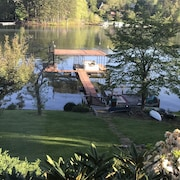 Lake Front Home ON Lake Chatuge Private Quiet Cove, Very Safe Neighborhood