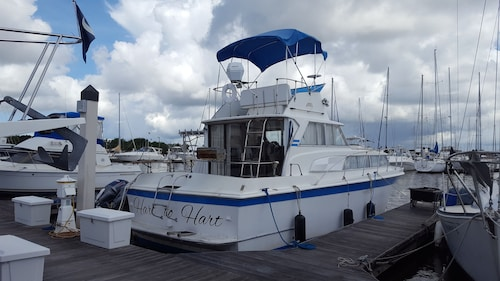 Enjoy a Night on the Water on our Beautiful 36 ft. Boat