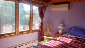 1 間臥室、熨斗/熨衫板、Wi-Fi、床單