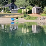 1bd, 1bath Lake Ki Waterfront House, Arlington,Wa