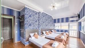 Ropa de cama de alta calidad y sistema de insonorización