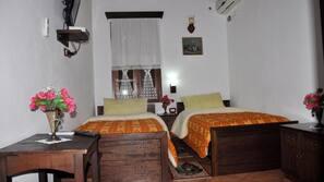 Premium bedding, individually furnished, desk, laptop workspace
