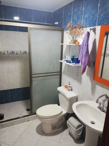 Bathroom, Apartment in the Residential Complex Olivenza