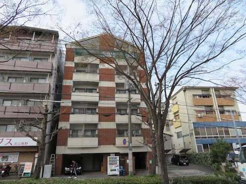 This Apartment Hotel Faces Kitayama-dori in Kyoto.from Karasuma Line Kitaoji Station on the City bus [north 1] [jenetajimae] bus Stop and get off at the Opposite Building