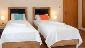 Bettwäsche aus ägyptischer Baumwolle, hochwertige Bettwaren, Minibar