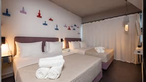 In-room safe, laptop workspace, soundproofing, free cribs/infant beds