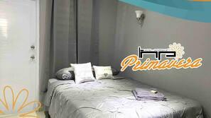 Conexión a Internet y ropa de cama