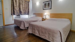 Individually furnished, blackout drapes, free rollaway beds, free WiFi