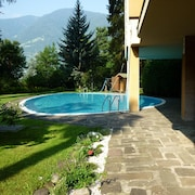 Studio in Meran, With Pool Access and Furnished Balcony - 6 km From the Slopes