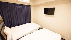1 bedroom, in-room safe, free WiFi, bed sheets