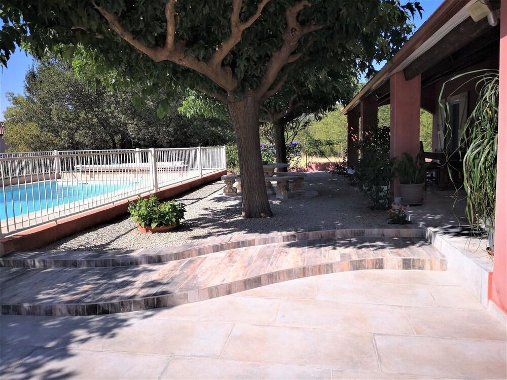 Villa Garden With Pool Near Lake Salagou in Montpellier ...
