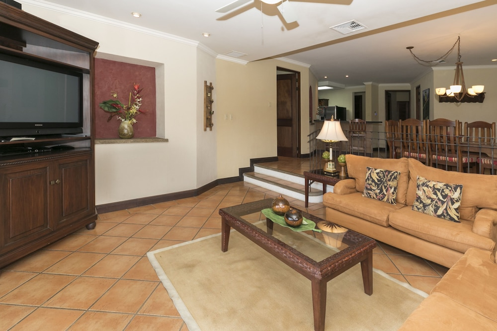 Living Area, Ocean View Luxury Condo Reserva Conchal A12