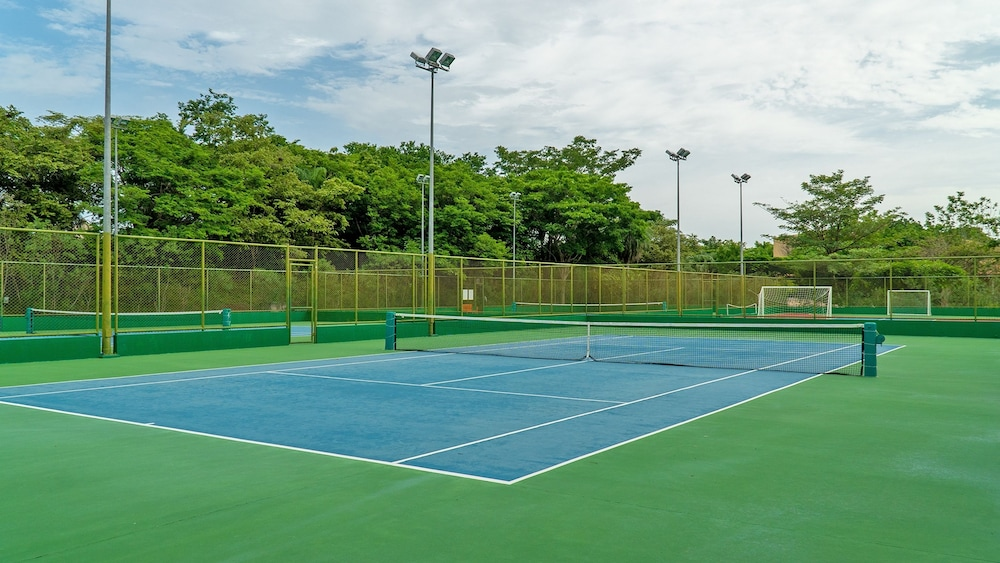 Tennis Court, Ocean View Luxury Condo Reserva Conchal A12