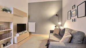 32-Zoll-Flachbildfernseher mit Digitalempfang