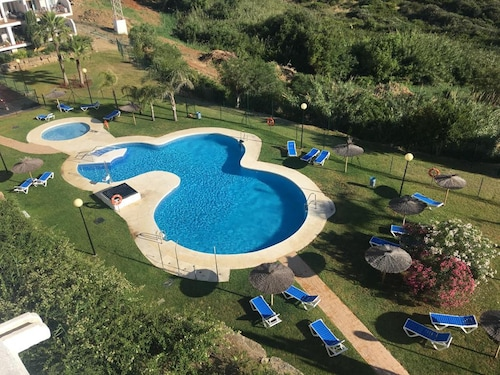 Apartment With 2 Bedrooms in Manilva, With Wonderful sea View, Pool Access, Furnished Terrace - 250 m From the Beach