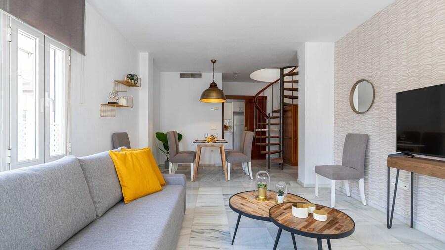 Living4Malaga Atico Soho Ático Duplex
