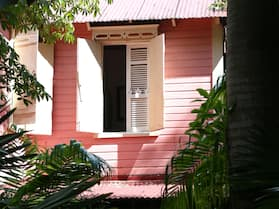 Pink Plantation House