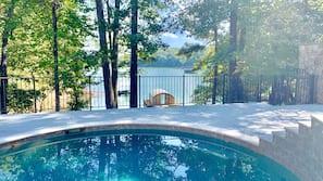 Una piscina climatizada