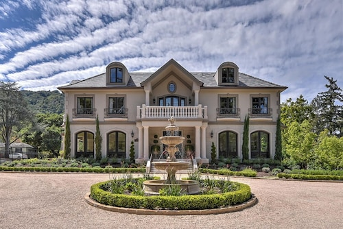 Executive Mansion Near Downtown Los Gatos