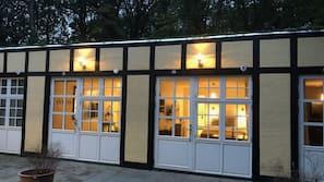 Overnatningsstedets facade