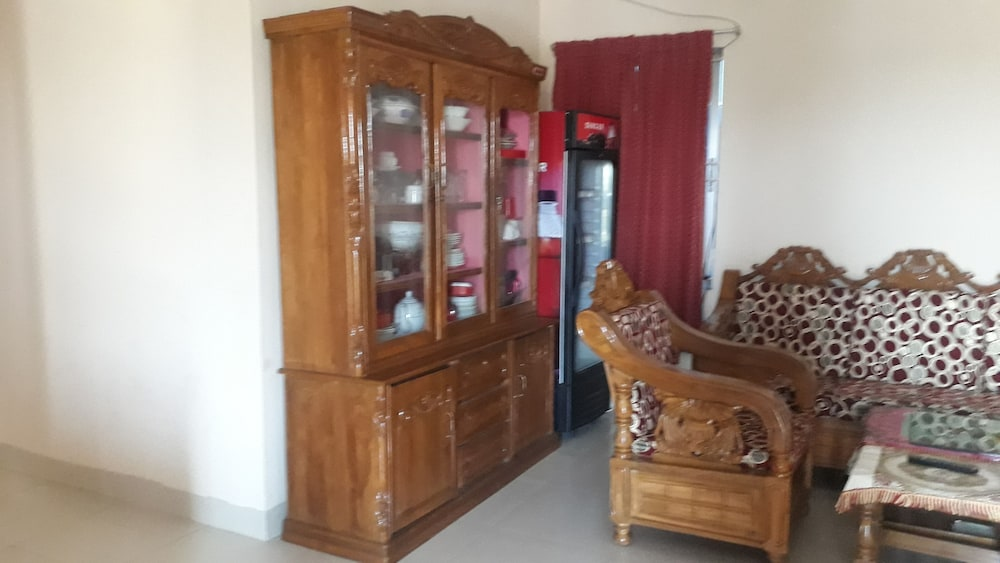 Living Room, Serviced Apartment Near Dhanmondi