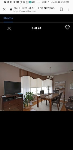 Property its a Condo. Master Bedroom Have a Jacuzzi . One Street to the Beach