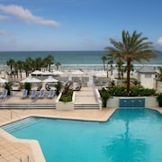 Oceanfront Resort w/ Sparkling Pool, Gym & Volleyball Court! Stay On The Beach!