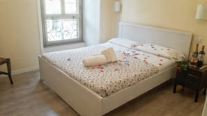 Down comforters, individually decorated, individually furnished