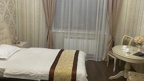 Minibar, schallisolierte Zimmer, kostenloses WLAN, Bettwäsche