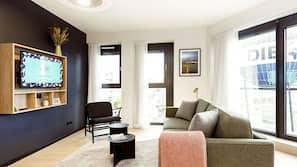 TV connectée de 43 pouces avec chaînes numériques