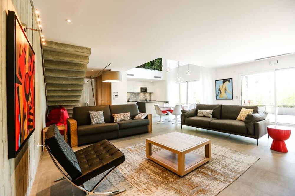 Living Room, The Kube Annecy Prestige Villas - Superior + Exception