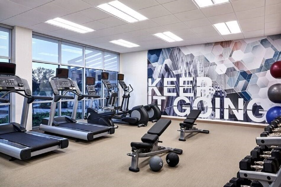 Fitness Facility, SpringHill Suites by Marriott Fort Myers Estero