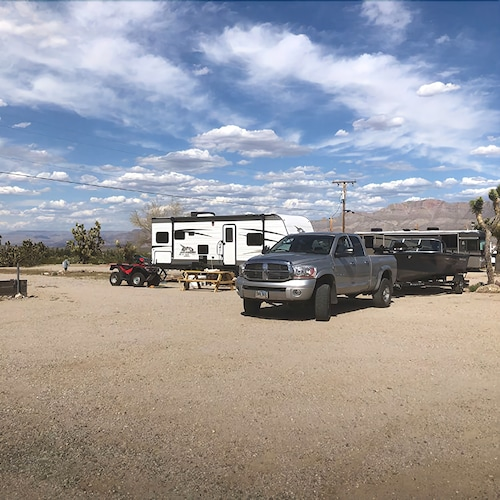 Property Grounds, Happy Trails Campground & Mini Motel