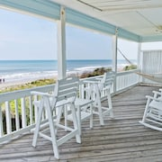 Oceanfront Beauty. Family Setting. Single Family Home on Southern Obx. New Vrbo
