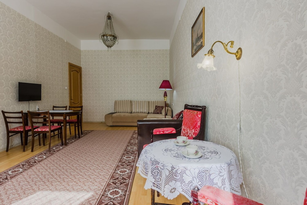 Living Room, Turgenev Apartment Near Hermitage