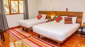 Roupas de cama antialérgicas, Wi-Fi de cortesia, roupa de cama