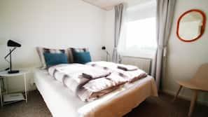 Individuelt design, individuel indretning, gratis Wi-Fi, sengetøj
