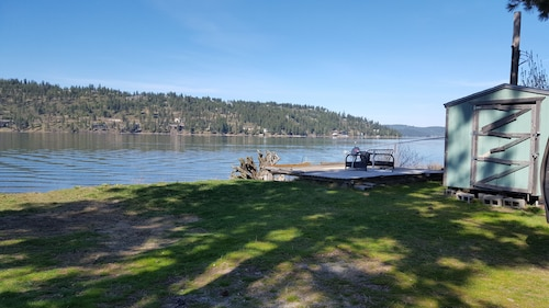 Coeur D Alene Lake Beach Front Lot and Docks