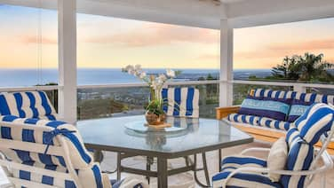 """Kona Sunset Hale"" w/ Epic Ocean Views & Expansive Balcony - Near Beach!"